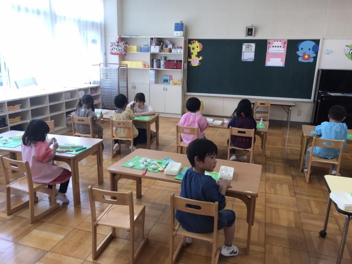 幼稚園再開です!